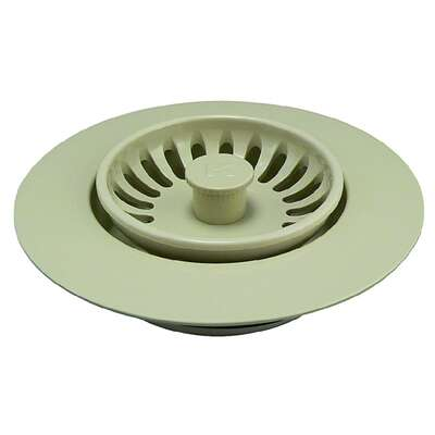 Keeney  3-1/2 in. Natural  Plastic  Garbage Disposer Sink Strainer