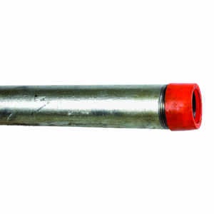 B&K Mueller  1-1/2 in. Dia. x 60 in. L Gray  Galvanized  Pre-Cut Pipe