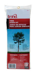 Bond Manufacturing  15 in. H Plastic  Tree Stakes