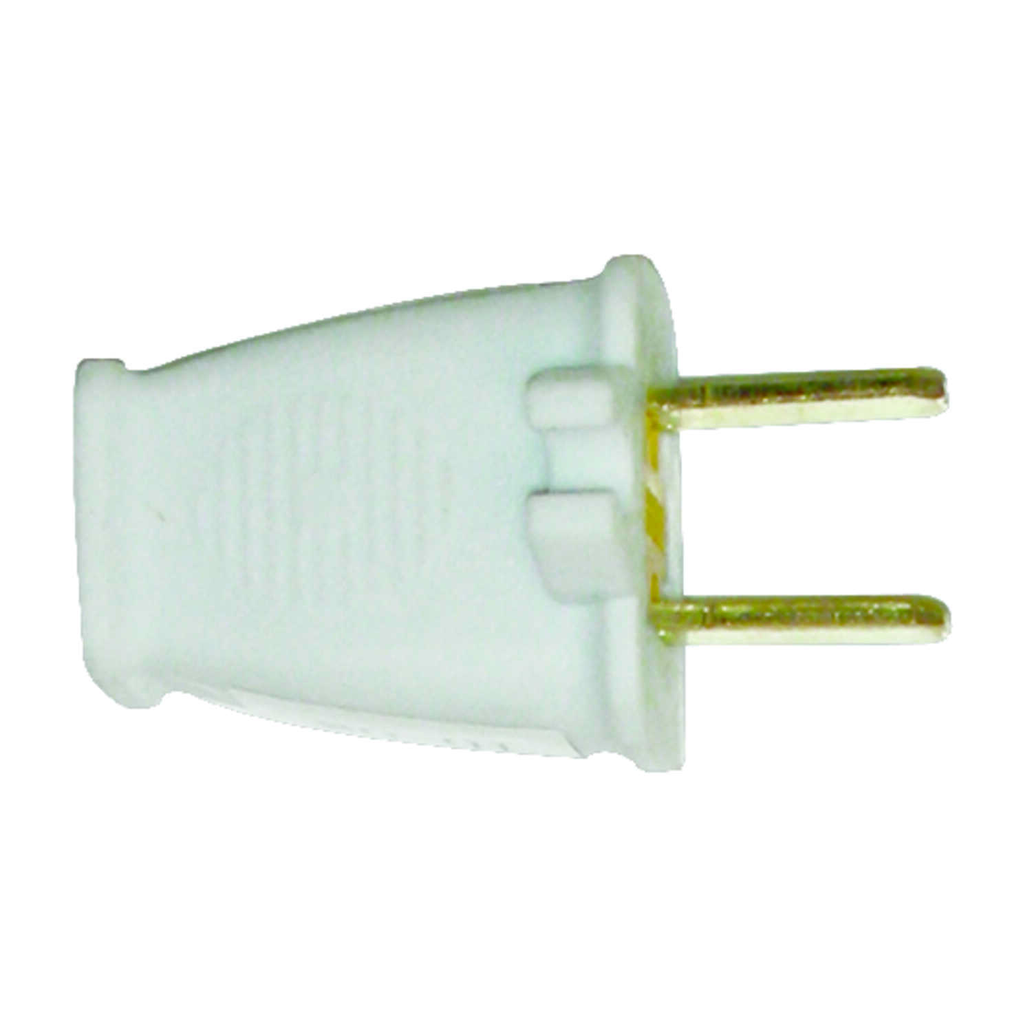 Pass & Seymour  Commercial and Residential  Thermoplastic  Non-Polarized  Plug w/Cord Clip  1-15P  1