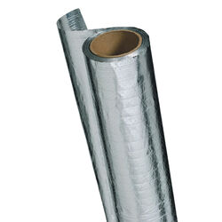 Reflectix  48 in. W x 125 ft. L Reflective  Radiant Barrier  Foil Insulation  Roll  500 sq. ft.
