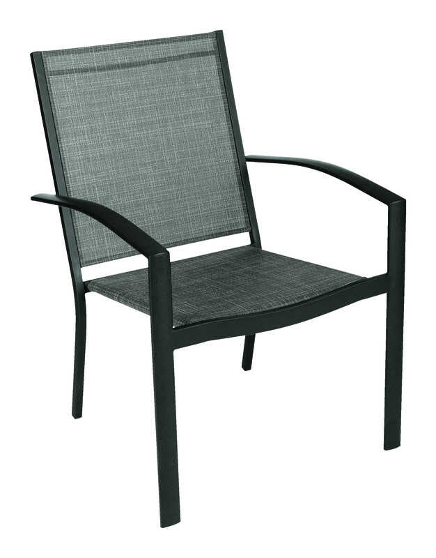 Strange Living Accents Brown Steel York Sling Chair Ace Hardware Camellatalisay Diy Chair Ideas Camellatalisaycom