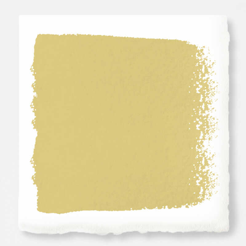 Magnolia Home  by Joanna Gaines  Matte  Heirloom Yellow  Acrylic  Paint  1 gal. U