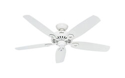 Hunter Fan Builder Elite 52 in. Snow White Indoor Ceiling Fan