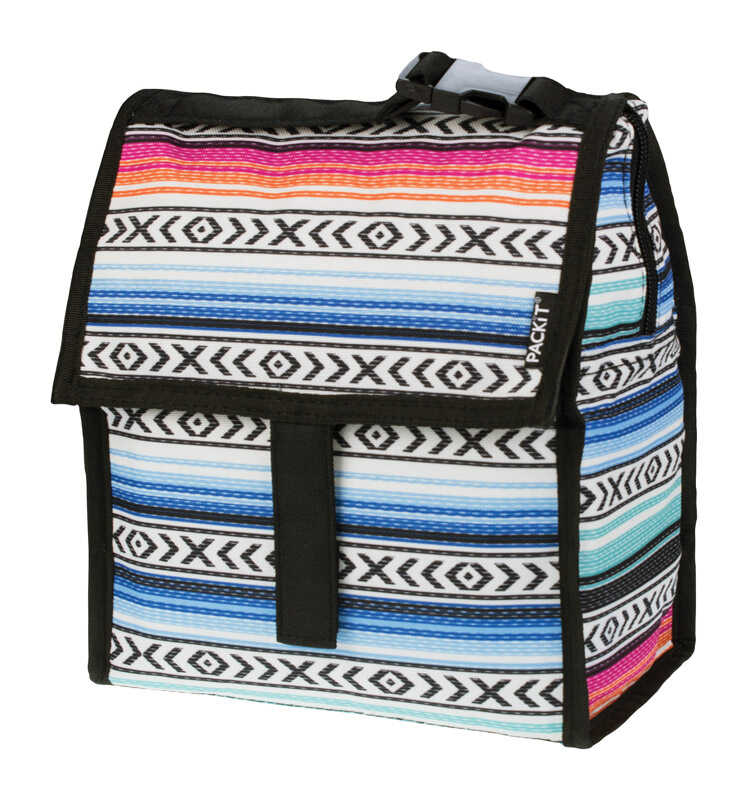PACKIT  4.5  Lunch Bag Cooler  Multicolored