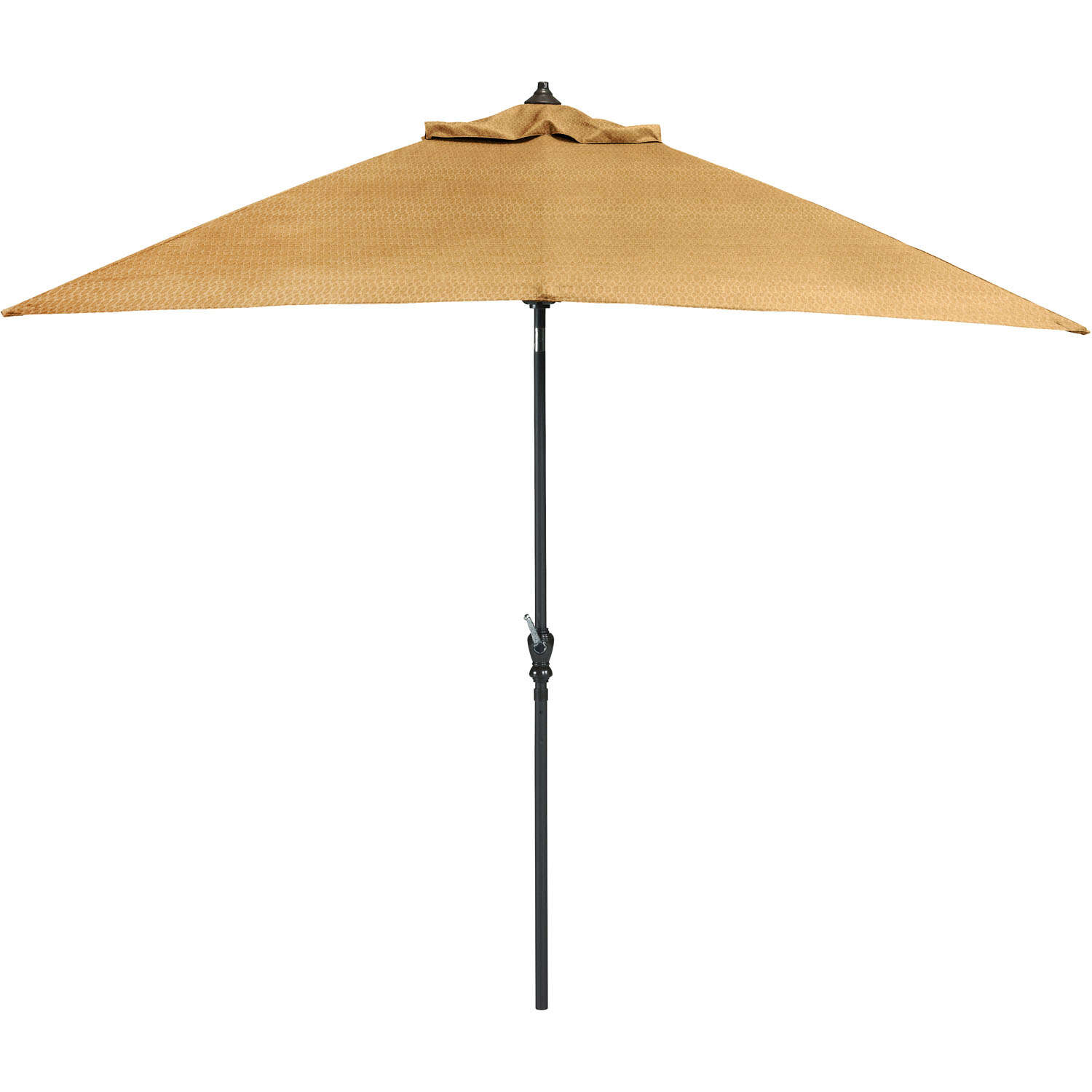 Hanover  Brigantine  120 in. Tiltable Tan  Patio Umbrella