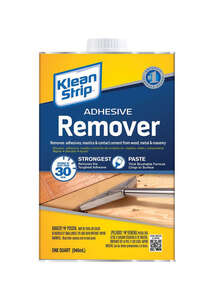 Klean Strip  Paste  Adhesive Remover  1 qt.