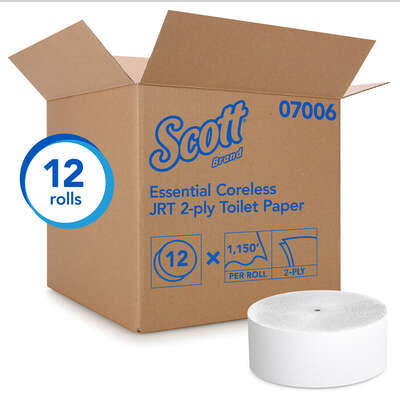 Scott  Essential Coreless  Toilet Paper  12 roll