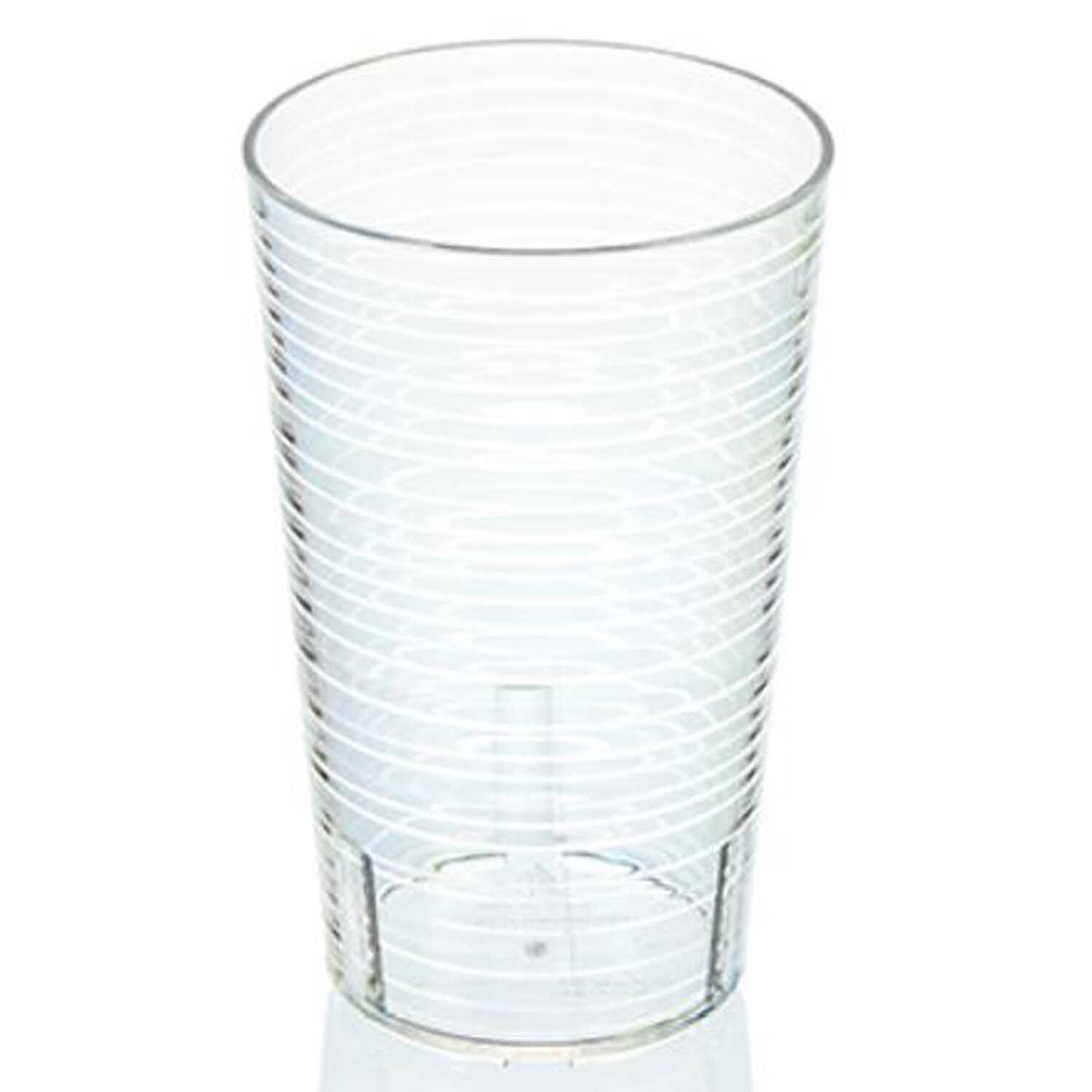 Arrow Home Products  14 oz. Clear  Plastic  Cup