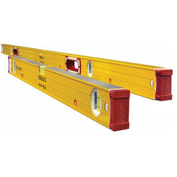 STABILA  Magnetic Jamber Set  2.4 in. Aluminum  Magnetic Type 96-2 M & Type 196-2 M  Box Beam  Level
