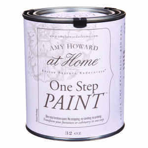 Amy Howard at Home  Flat Chalky Finish  Ballet White  Latex  One Step Paint  32 oz.