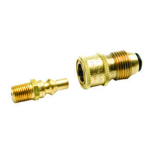 Mr. Heater  1/4 in. Dia. Brass  Propane Coupling Adapter Kit