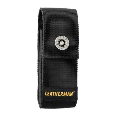 Leatherman  1 pocket Nylon/Metal  Belt Sheath  4.75 in. L x 0.8 in. H Black