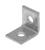 Unistrut  9/16 in. Dia. Steel  Angle Plate  For IMC 1 pk