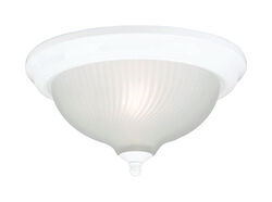 Westinghouse  8 in. H x 11-1/2 in. W x 11-1/2 in. L White  Ceiling Fixture