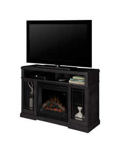 Dimplex  46.5 in. W 400 sq. ft. Black  Modern  Electric Fireplace