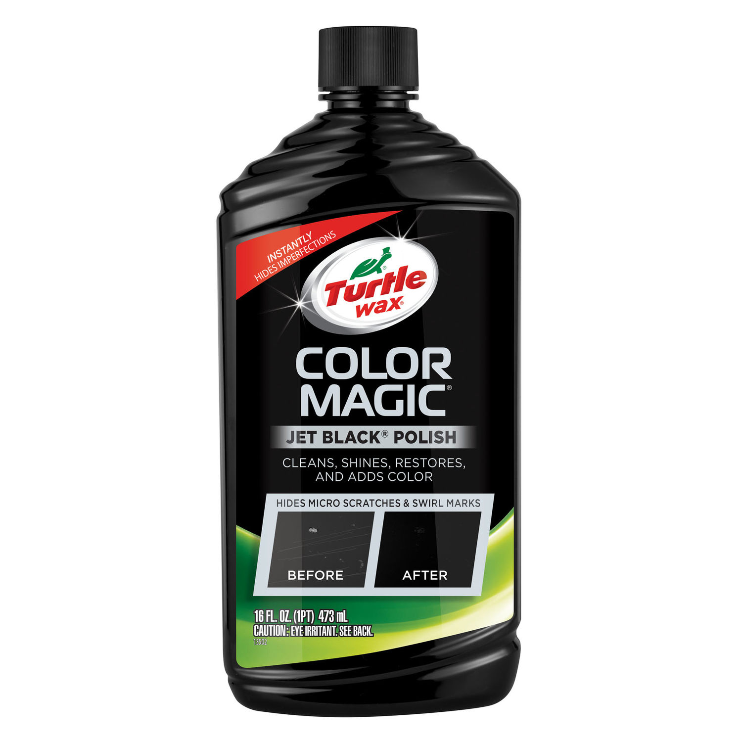 Turtle Wax Color Magic Liquid Automobile Polish 16 Oz For Deep Wiring Colour Codes Scratches And Chips