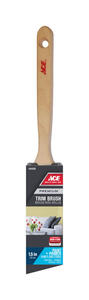 Ace  Premium  1-1/2 in. W Medium Stiff  Angle  Trim Paint Brush