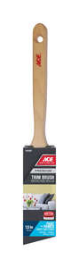 Ace  Premium  1-1/2 in. W Angle  Nylon Polyester  Trim Paint Brush  Medium Stiff