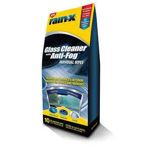 Rain-X  Interior Glass Anti-Fog  Wipe  10 wipes