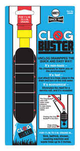 Harvey's  ClogBuster  1.5 in. Drain Unclogger