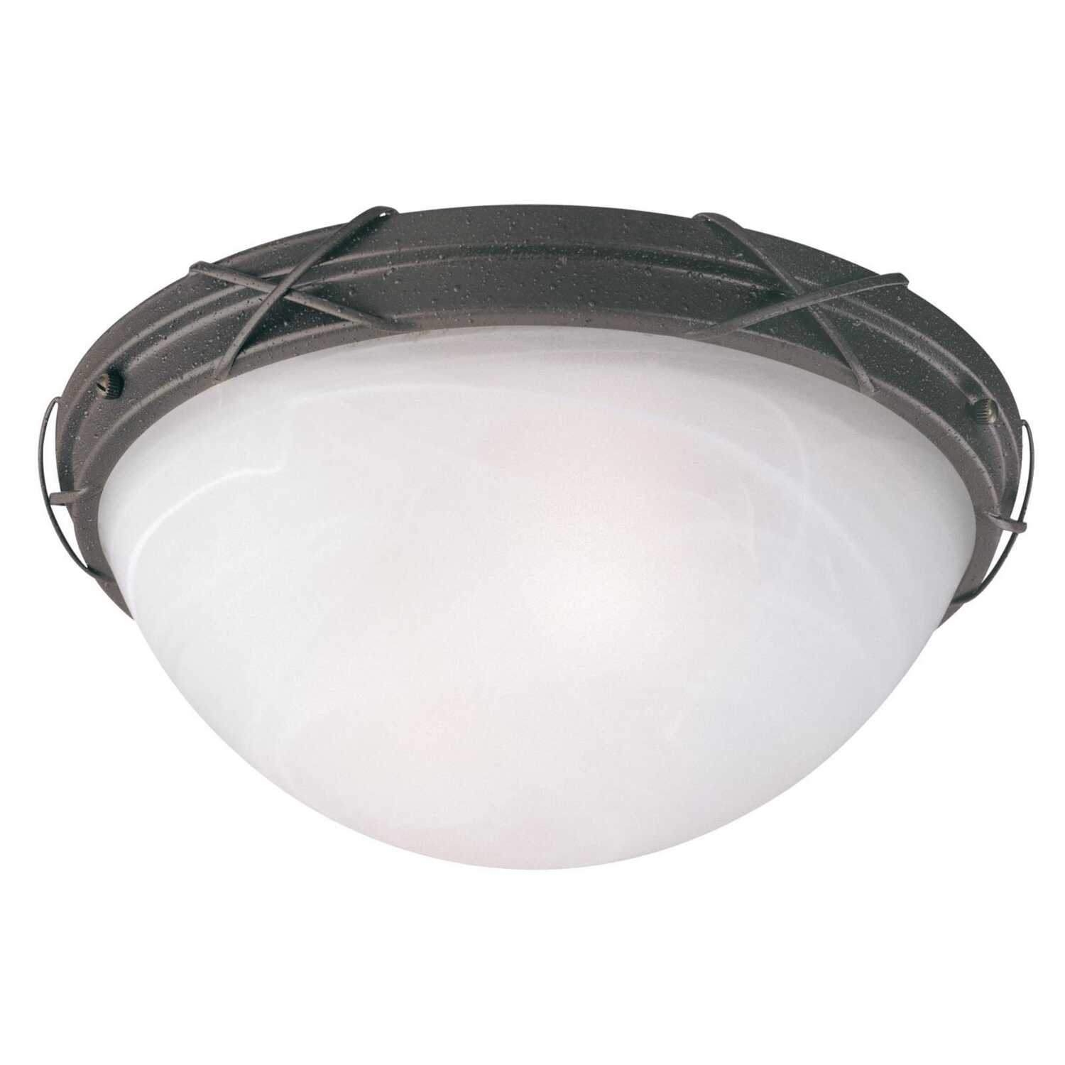 Westinghouse  Claremont  7-1/8 in. H x 14 in. W x 14 in. L Ceiling Light
