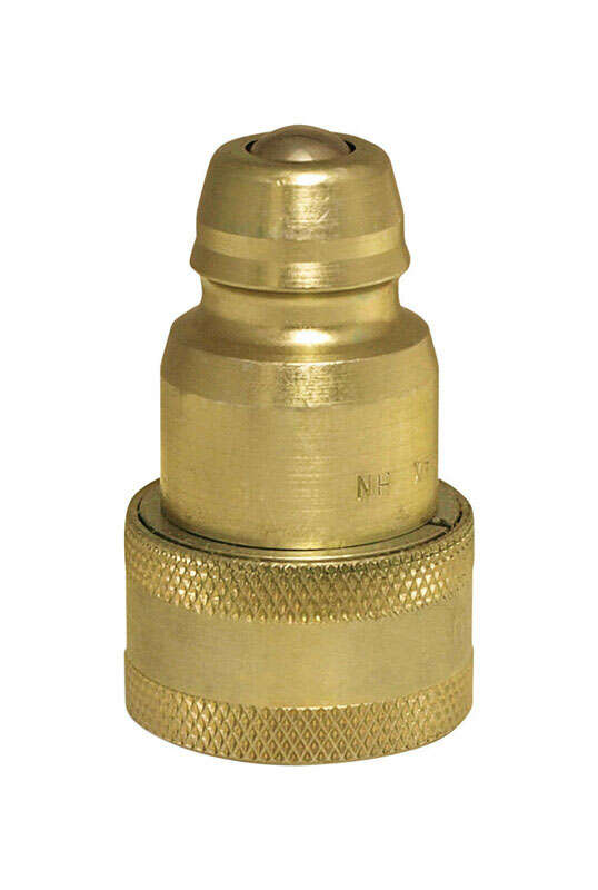 Apache Brass Hydraulic Adapter 1