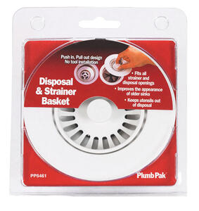 Keeney  3-1/2 in. Dia. Garbage Disposer Sink Strainer