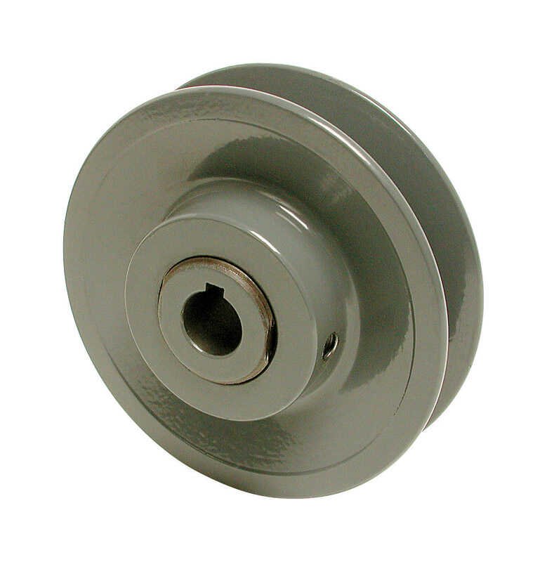 Dial  1/2 in. H x 3-3/4 in. W Cast Iron  Gray  Variable Motor Pulley