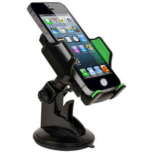 Custom Accessories  Goxt  Black  Cell Phone Holder  For Universal