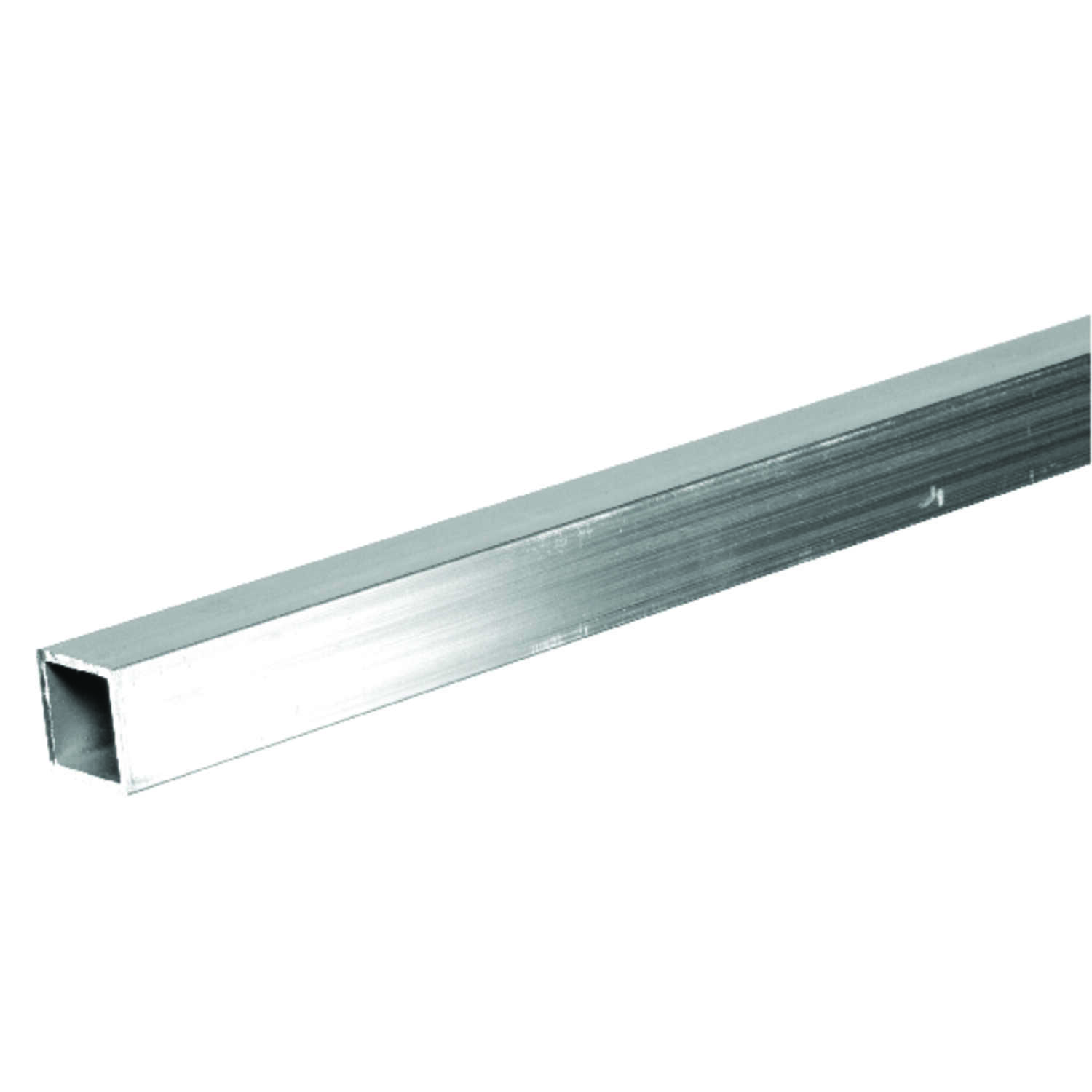 Boltmaster  1 in. Dia. x 8 ft. L Square  Aluminum Tube