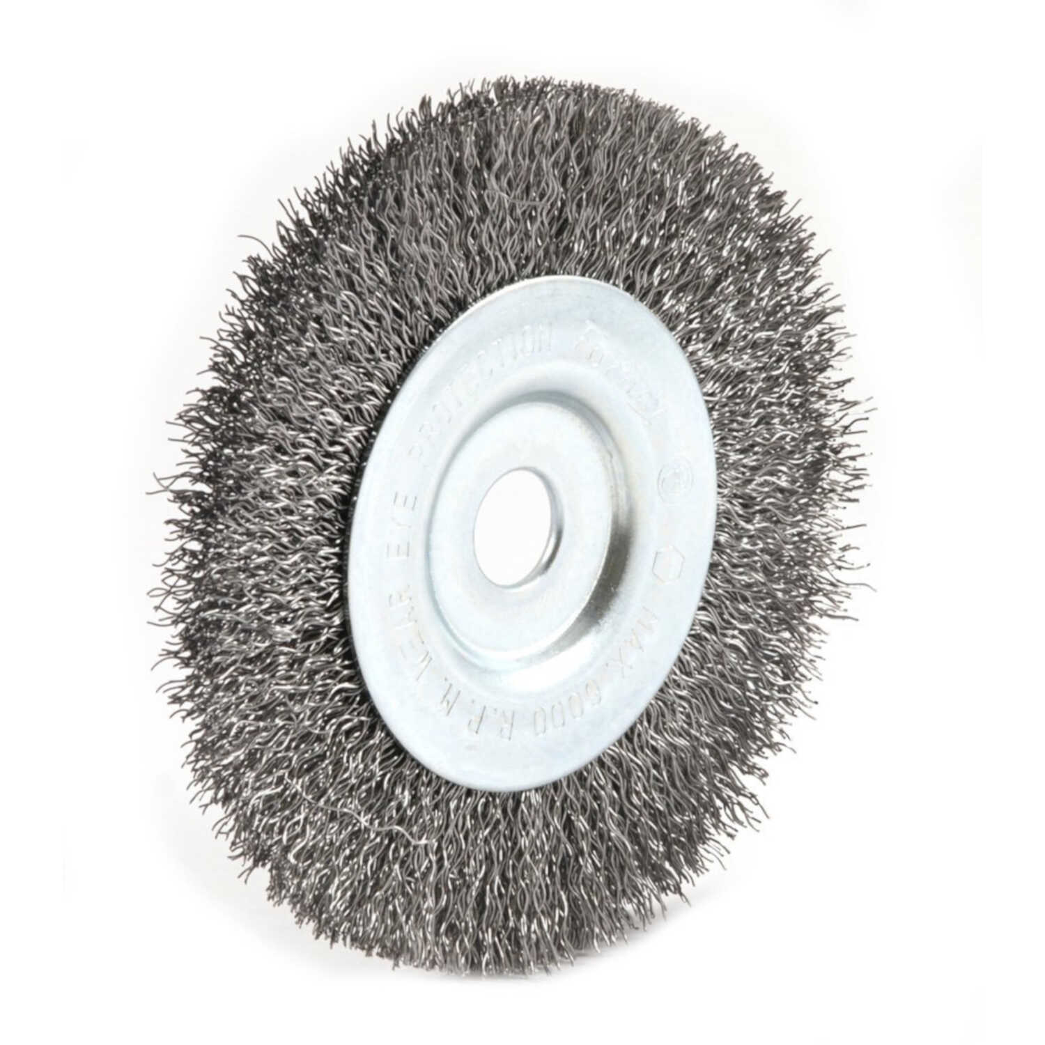 Forney  4 in. Crimped  Wire Wheel Brush  Metal  6000 rpm 1 pc.