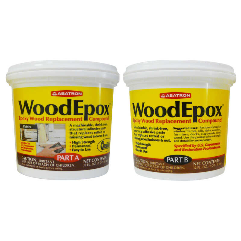 Abatron  WoodEpox  Epoxy Wood Filler Kit  2 qt.
