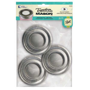 Loew Cornell  Transform Mason  Regular Mouth  Tealight Jar Lid  3 pk