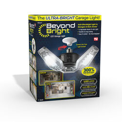 Beyond Bright  LED  Garage Light  Plastic  1 pk