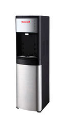 Honeywell  5 gal. Black/Silver  Free-Standing Water Dispenser  Stainless Steel