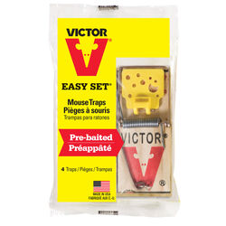 Victor  Snap Trap  For Mice 4 pk