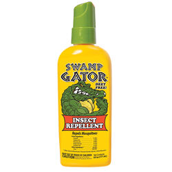 Swamp Gator  Natural  Organic Insect Repellent  Liquid  For Gnats/Mosquitoes, Biting Insects 6 oz.