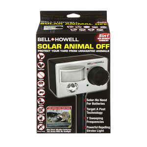 Bell + Howell  Solar Animal Off  For All Animals Animal Repellent
