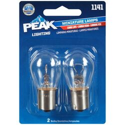 Peak  Incandescent  Parking/Stop/Tail/Turn  Miniature Automotive Bulb  1141
