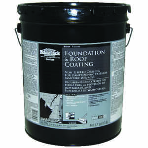 Black Jack  Gloss  Black  Asphalt  Asphalt Roof Coating  5 gal.