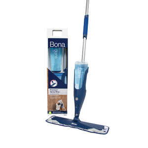 Bona  16.5 in. W Spray  Fiber  Mop Kit