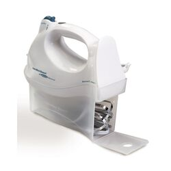 Hamilton Beach White 6 speed Hand Mixer
