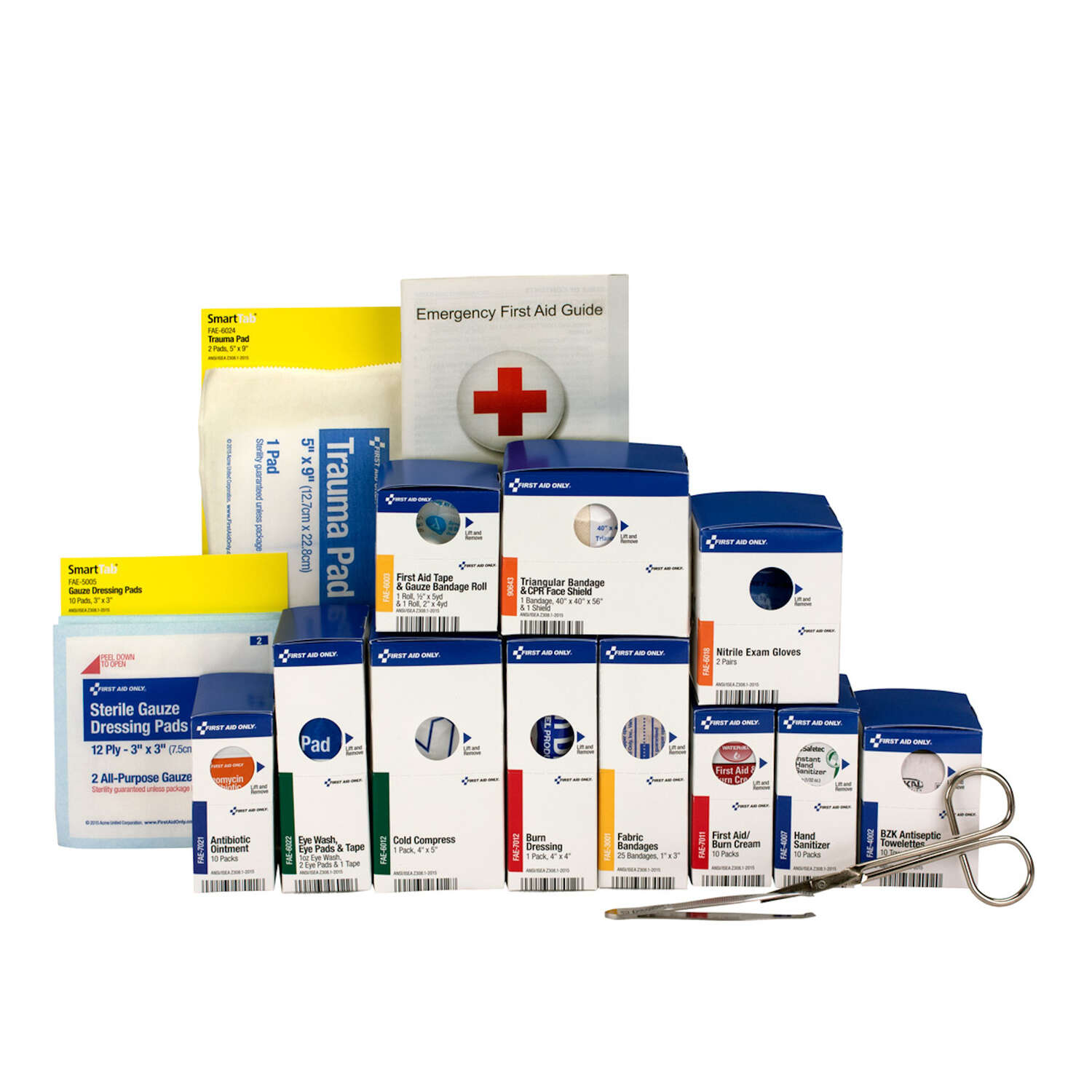 First Aid Only  25 Person  First Aid Refill Pack  94 count