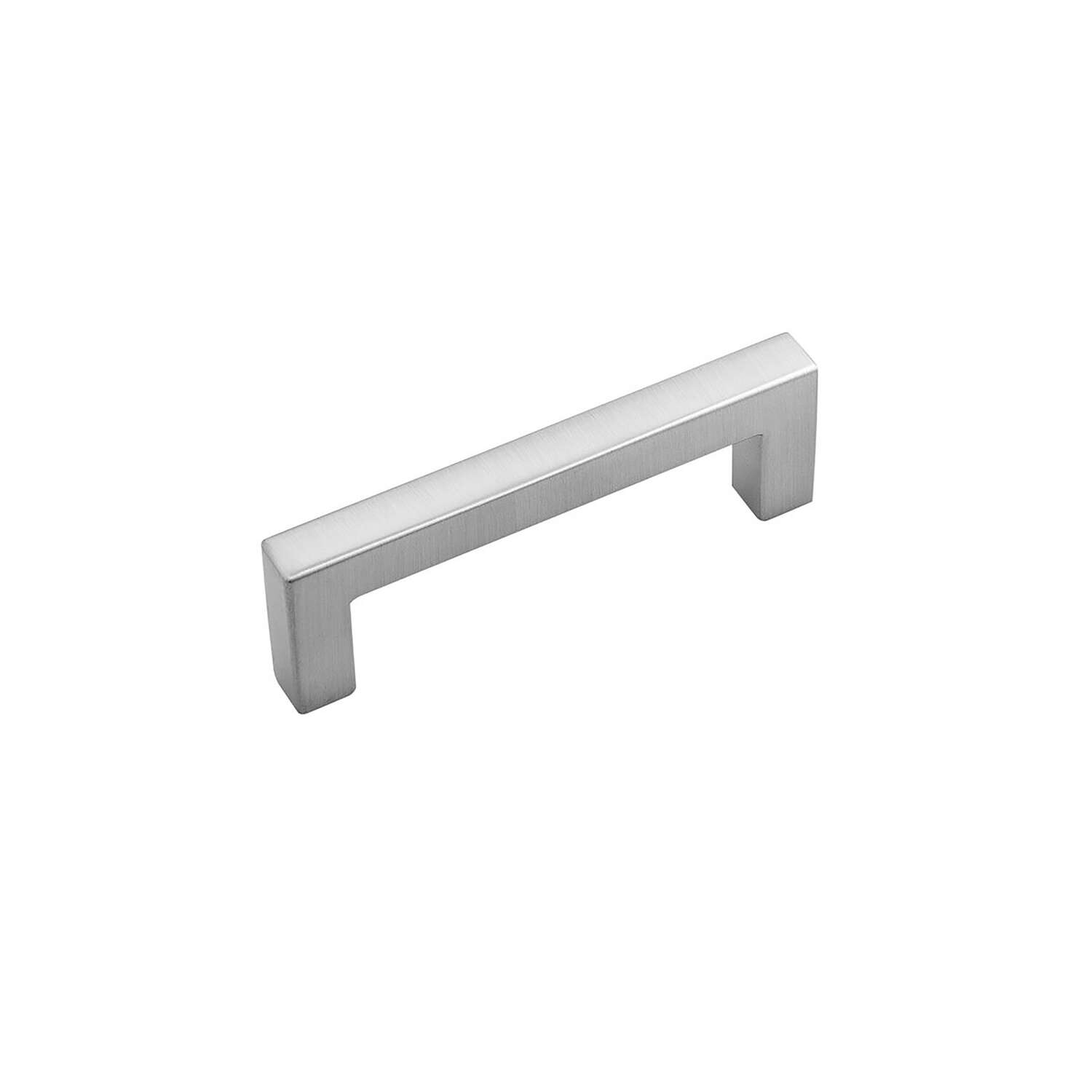 Hickory Hardware Skylight Contemporary Bar Cabinet Pull 3 in. Stainless Steel Silver 1 pk