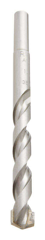 Irwin  Rotary Percussion  1/2 in. Dia. x 6 in. L High Speed Steel  Hammer Drill Bit  Straight Shank