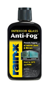Rain-X  Anti-Fog  Interior Glass Anti-Fog  Liquid  3.5 oz.