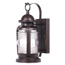 Westinghouse  Weathered Bronze  Switch  Incandescent  Wall Lantern