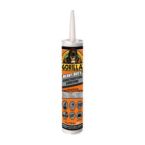 Gorilla  Heavy Duty  Paste  Construction Adhesive  9 oz.