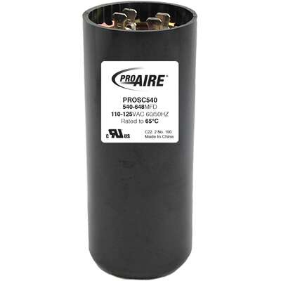 Perfect Aire  ProAire  540-648 MFD  Round Start Capacitor